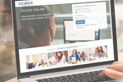 acade online 480x320 - ACADE ONLINE la nueva plataforma para tu teleformación