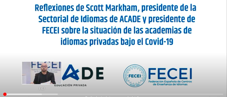 """fecei cabecera - Scott Markham, presidente FECEI: """"Una palabra que define este periodo es Superación"""""""