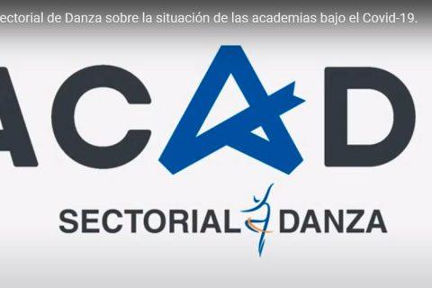 logo acade danza 480x320 - La Sectorial de Danza analiza la situación de las escuelas tras la crisis de la COVID-19