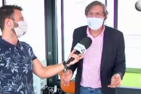 """Entrevista mariano sanz 480x320 - Mariano Sanz: """"Lo importante es saber qué alternativas nos dan de cara al mes de septiembre"""""""
