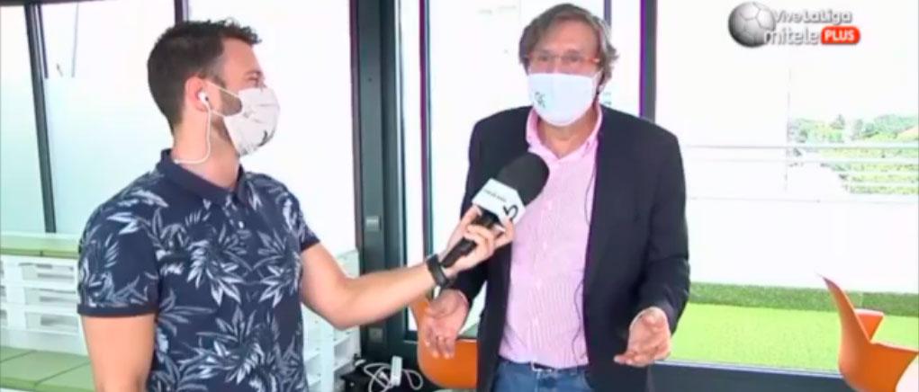 """Entrevista mariano sanz - Mariano Sanz: """"Lo importante es saber qué alternativas nos dan de cara al mes de septiembre"""""""