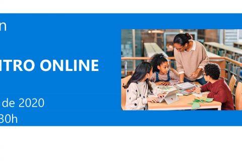 invitacion web 480x320 - La vuelta al cole Tech con Microsoft. Te invitamos a este encuentro el 23 de junio