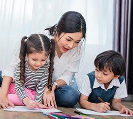 madre educar 270x240 - Cursos de formación