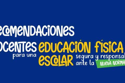 recomendaciones web 480x320 - Guía de Recomendaciones para una Educación Física escolar segura y responsable